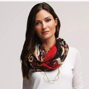 Silpada wool/silk scarf